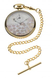 Gold Plated Nelson Pocket Watch