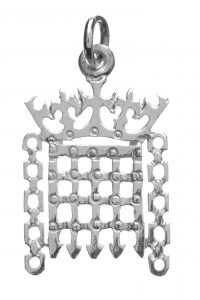 House of Commons Silver Portcullis