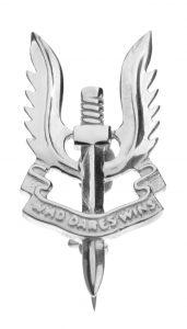 SAS Emblem brooch by Mallards