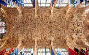 Henry VII chapel Vault, Westminster Abbey. Copyright: The Dean and Chapter of Westminster