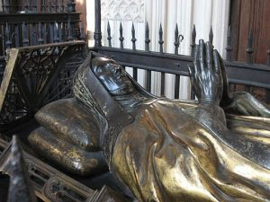 Lady Margaret Beaufort's tomb in the Lady Chapel. Photo: Wikimedia Commons