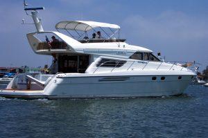 Princess 60 yacht Newport Beach